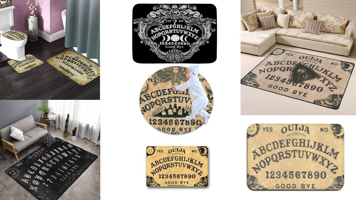 felpudos-alfombras-alfombrillas originales tabla OUIJA